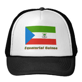 Equatorial Guinea Flag with Name Trucker Hat