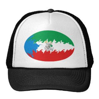 Equatorial Guinea Gnarly Flag Hat