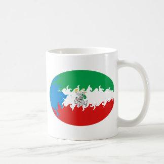 Equatorial Guinea Gnarly Flag Mug