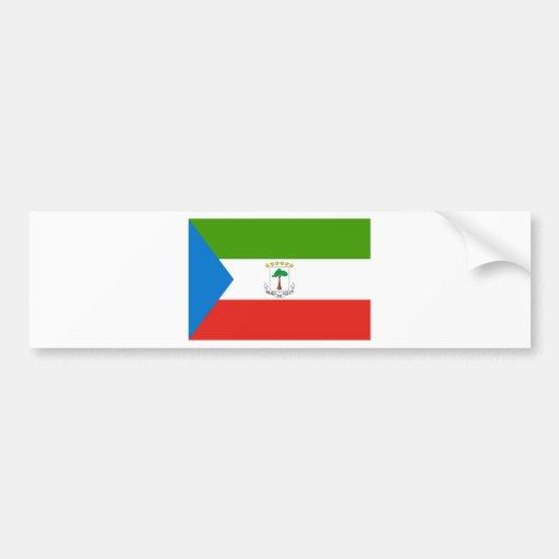 Equatorial Guinea GQ Bumper Stickers