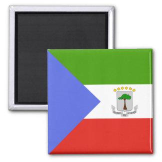 Equatorial Guinea High quality Flag 2 Inch Square Magnet