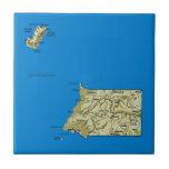 Equatorial Guinea Map Tile