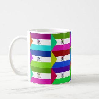 Equatorial Guinea Multihue Flags Mug