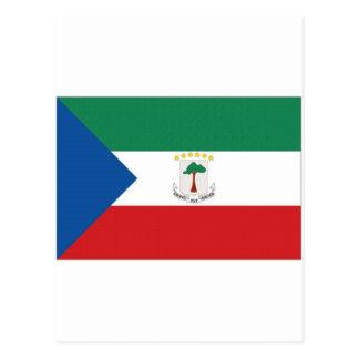 Equatorial Guinea National  Flag Postcard