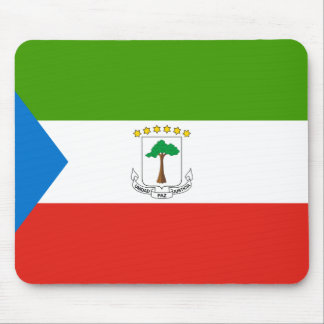 Equatorial Guinea National World Flag Mouse Pad