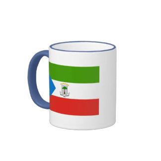 equatorial guinea ringer coffee mug