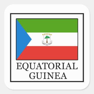 Equatorial Guinea Square Sticker