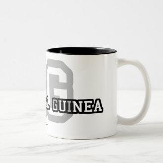 Equatorial Guinea Two-Tone Coffee Mug