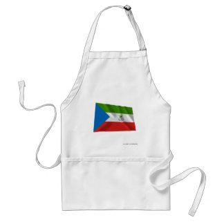 Equatorial Guinea Waving Flag Adult Apron