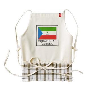 Equatorial Guinea Zazzle HEART Apron