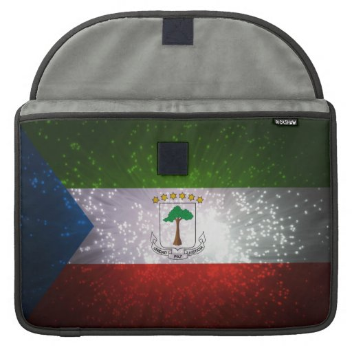 Equatorial Guinean Flag Sleeves For MacBooks