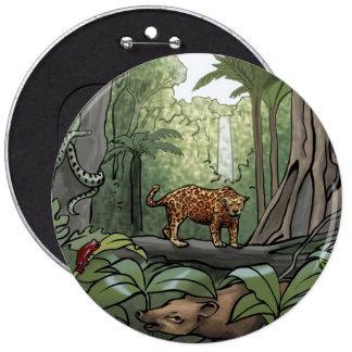 Equatorial Rainforest Button