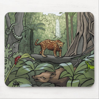 Equatorial Rainforest Mouse Pad