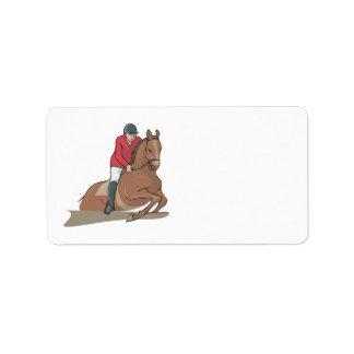 Equestrian 3 label