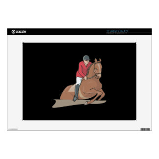 Equestrian 3 laptop decal