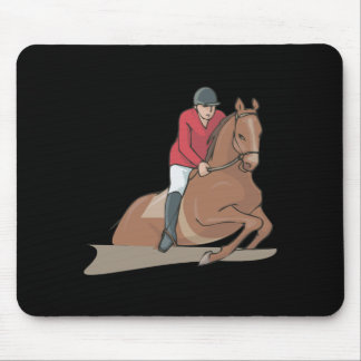Equestrian 3 mouse pad
