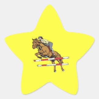 Equestrian 5 star sticker