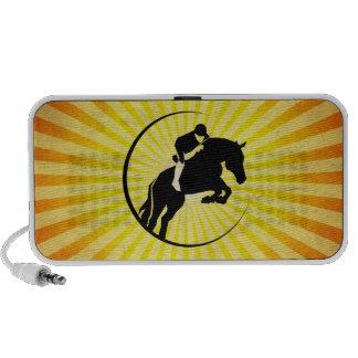 Equestrian amarillo altavoz