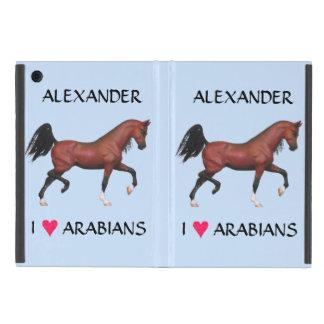 Equestrian árabe del potro del amante del caballo iPad mini cárcasa