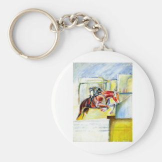 Equestrian art,  gifts and cards key chain