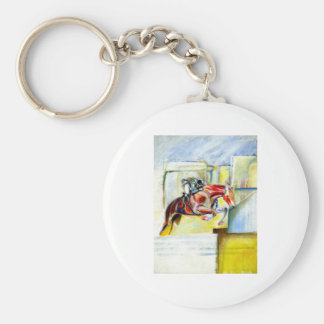 Equestrian art,  gifts and cards key chains