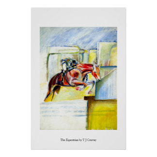 Equestrian art,  gifts and cards poster