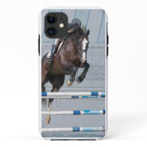 Equestrian Art-Show Jumping iPhone 11 Case