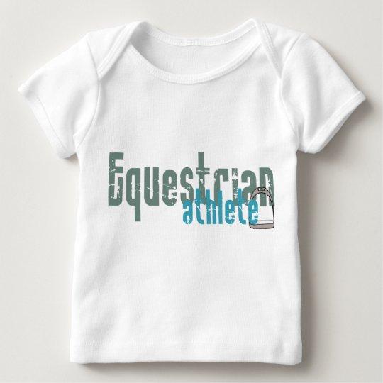 Equestrian Athlete Baby T-Shirt