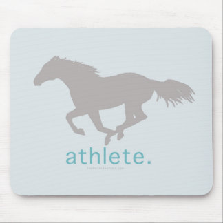 Equestrian Athlete Mouse Pad