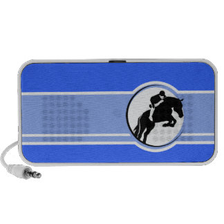 Equestrian azul notebook altavoces