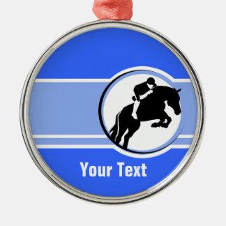 Equestrian azul ornamente de reyes
