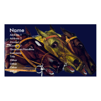 EQUESTRIAN Business Cards