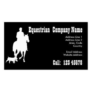 Equestrian Business Theme & 2015 Calendar Business Card