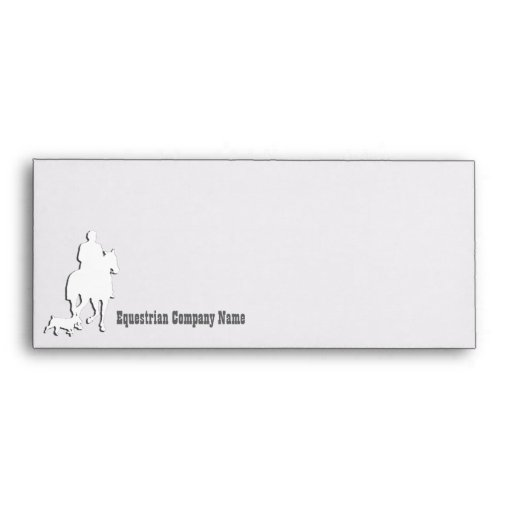 Equestrian Business Theme Collection Envelopes