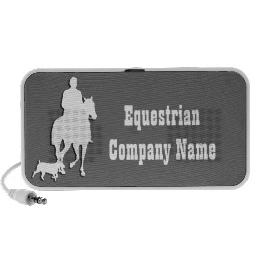 Equestrian Business Theme Collection Laptop Speakers