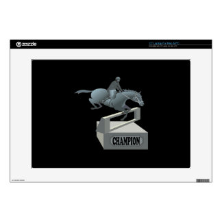 """Equestrian Champion Decals For 15"""" Laptops"""