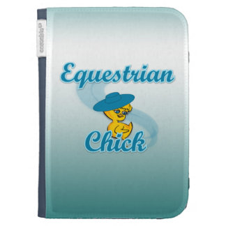 Equestrian Chick 3 Case For Kindle