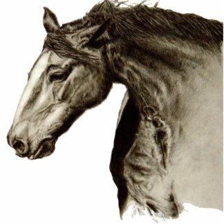 Equestrian chocolate cutout