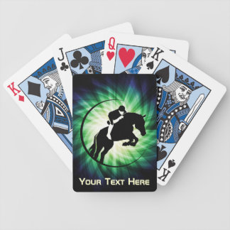 Equestrian; Cool Bicycle Playing Cards