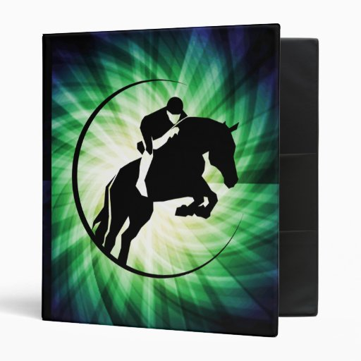 Equestrian; Cool 3 Ring Binders