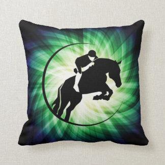 Equestrian; Cool Throw Pillows
