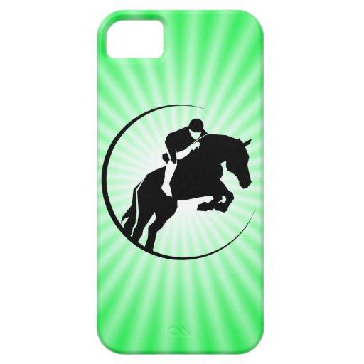 Equestrian de la verde lima iPhone 5 Case-Mate funda