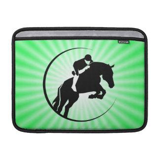 Equestrian de la verde lima funda  MacBook