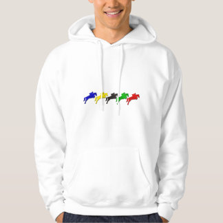 Equestrian dressage and show jumping horse hoodie