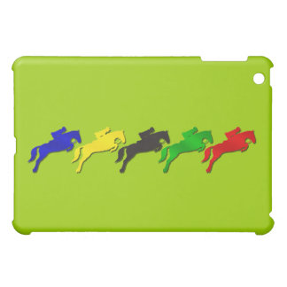 Equestrian dressage and show jumping horse iPad mini covers
