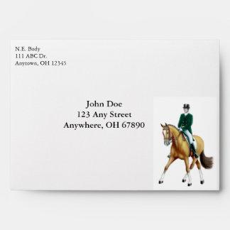 Equestrian Dressage Envelope