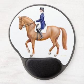 Equestrian Dressage Horse Gel Mousepad