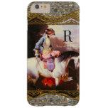 Equestrian Elsa  Monogram Barely There iPhone 6 Plus Case