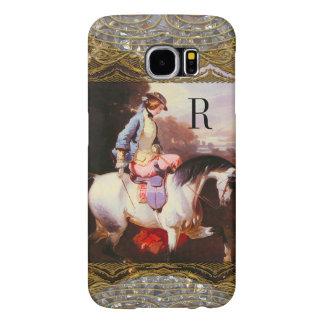Equestrian Elsa Monogram Samsung Galaxy S6 Case