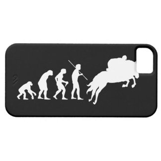 Equestrian Evolution from Man to Horseback iPhone SE/5/5s Case